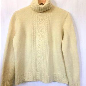 Lauren Ralph Lauren Merino Cashmere Sz Lg Sweater